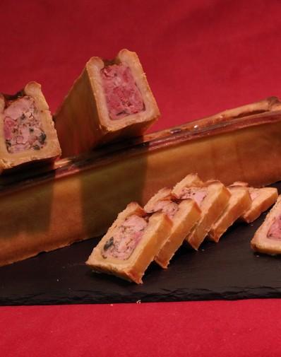 Petit Pâté en croûte canard au foie gras